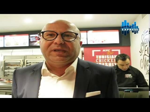 Ouverture du premier restaurant KFC En Tunisie