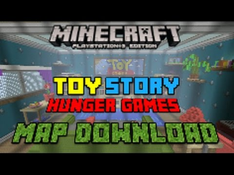 Toy Story 2 Hunger Games Map (Minecraft PS4) mcps4download