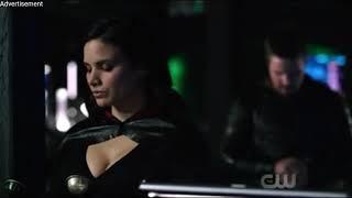 Arrow 6x16/Oliver talks to Nyssa/Nyssa talks to Felicity