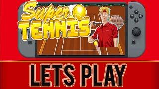 Super Tennis -  Gameplay  - Nintendo Switch