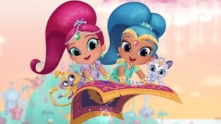 Playtime with Shimmer and Shine | Coloring, Match Up, Memory Kids Games by Nickelodeon ► TiKiFun