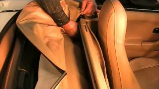 Mazda Miata Mx-5 Convertible Top Boot Install