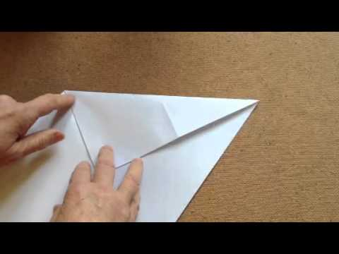 Origami Tetrahedron  Instructions in English BR