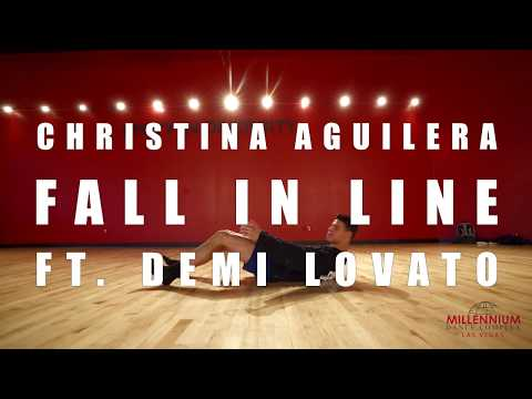 Pop Up Class | Howard Johnson | Christina Aguilera - Fall in Line ft. Demi Lovato