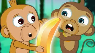 Adventures of Annie & Ben: The Golden Banana | Funny Cartoons for Children | HooplaKidz TV thumbnail