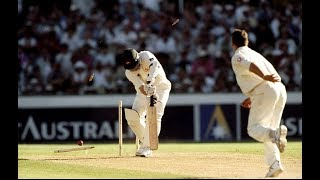 Darren Gough's famous Ashes Hattrick at the SCG - rips through Aussie batting