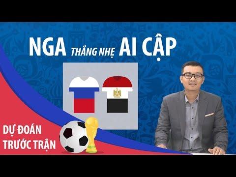 [DỰ ĐOÁN] Nga thắng nhẹ Ai Cập 1-0