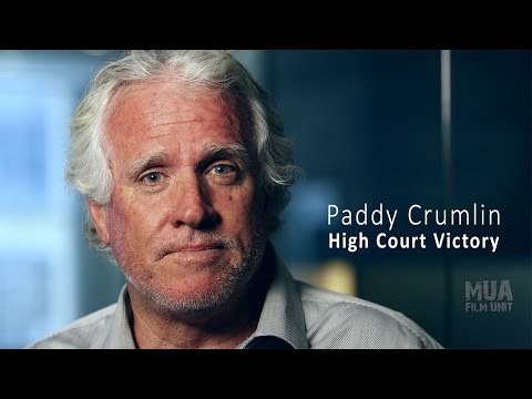 Paddy Crumlin - High Court Victory