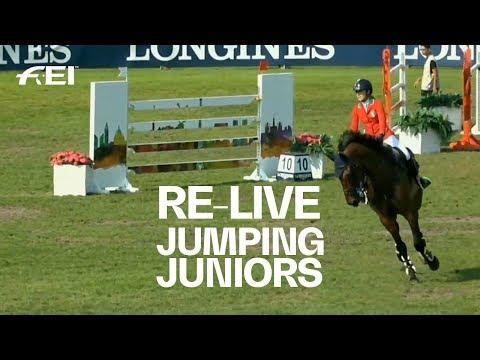 RE-LIVE | Jumping (J Individual Round 1 & 2) | FEI European Championships CH / J / YR