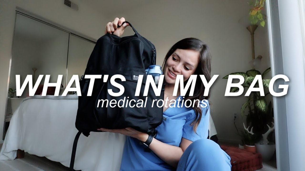 Download what's in my bag as a medical student   Rachel Southard