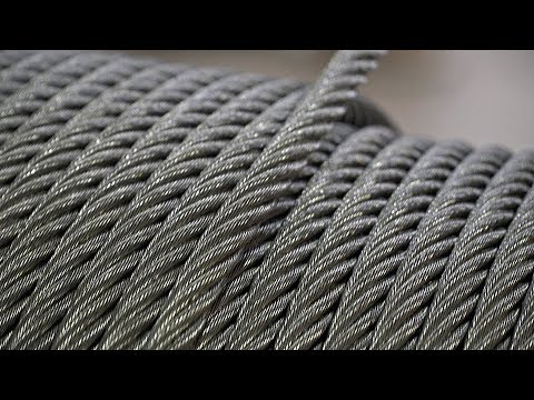 Making of Industrial Wire Ropes and Cables , How it's Made, How Wire is Made