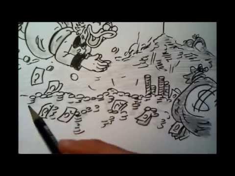 Onkel Dagobert Im Geld Badend Zeichnen Youtube