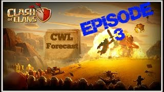 Clash of Clans CWL Forecast With Powerbang and Clash With Ash Episode 3 (Season 2 Week 4)