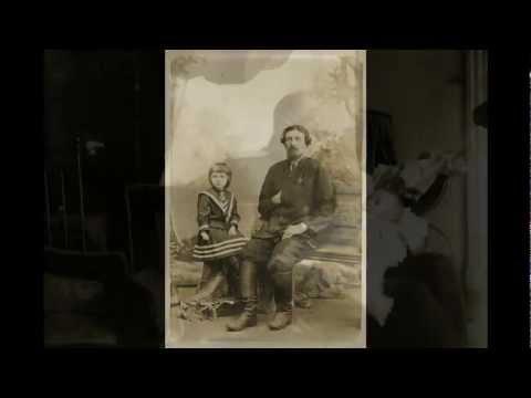 Частные фотографии из семейного архива одной пары видео
