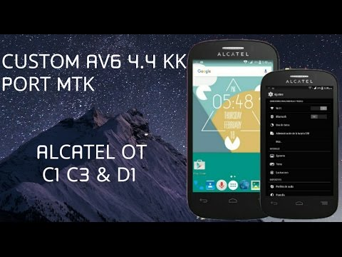 Android - 4 4 2 KIT KAT - ALCATEL POP C1 4016A y 4 by The Androd Pro