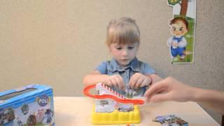 Обзор игрушки трек Робокар Поли