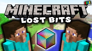 Minecraft LOST BITS   Unused Content and Debug Features [TetraBitGaming]