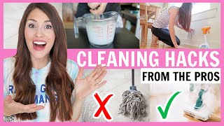 11 Cleaning Hacks fŗom Professional Cleaners THAT REALLY WORK