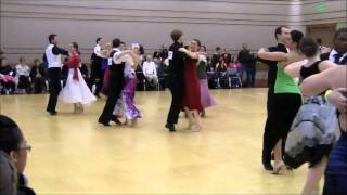 Bronze American Smooth Foxtrot & Viennese Waltz at the Valparaiso Ballroom Competition 2011