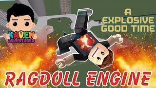 Roblox Ragdoll Motor Super Explosivo Diversión Juegos