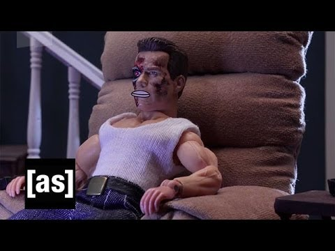 Terminator Dad | Robot Chicken | Adult Swim