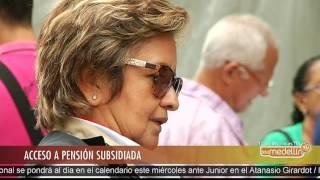 Feria de Seguridad Social ofrece programa de pensión subsidiada [Noticias] - Telemedellín