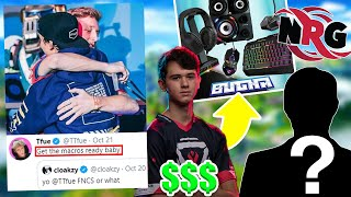 Tfue & Cloakzy RETURNING To MACRO? Bugha MILLION $$ DEAL? NRG Signs NEW Player?