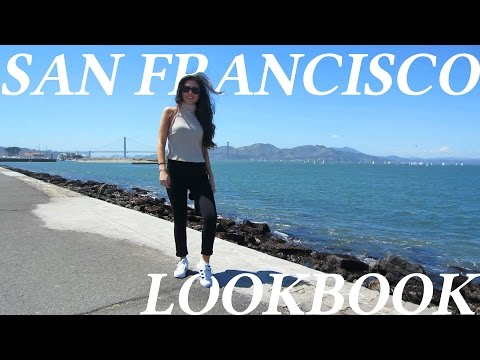 San Francisco Travel Vlog Lookbook Spring 2016