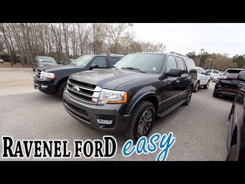 Here's a 2017 Ford Expedition EL XLT | For Sale Review @ Ravenel Ford – March 2018