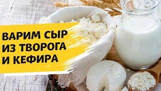 Сыр из творога и кефира секреты приготовления Как сделать домашний сыр