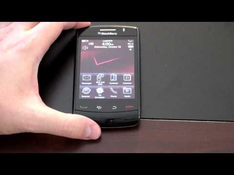 Blackberry Storm 2: Screen Explained