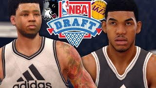 NBA LIVE 16 Rising Star - NBA DRAFT! 1st OVERALL DRAFT PICK!?!