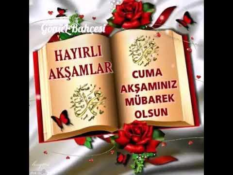 Hayirli Aksamlar ve Cuma Aksaminiz Mübarek olsun!!!