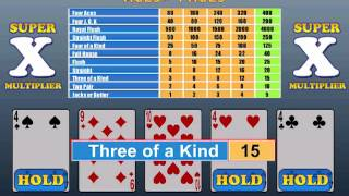 Mojo Video Poker HD - iPad and OSX Video Poker Collection
