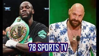 WOW!!! TYSON FURY READY TO DUCK DEONTAY WILDER REMATCH AGAIN