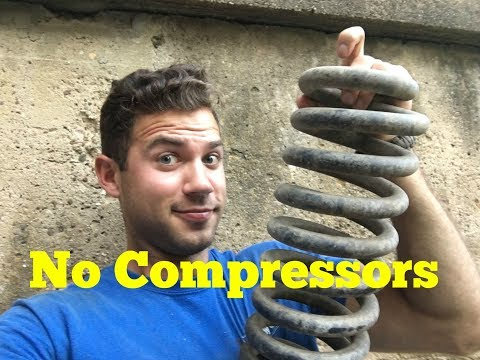 How to Replace Coil Springs Without Compressors | Ford F150