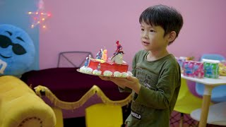 Xavi tổ chức sinh nhật 6 tuổi - Happy Birthday - Xavi's 6th Birthday Party