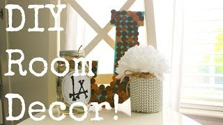 Cute and Simple DIY Room Decorations!♡ Thumbnail