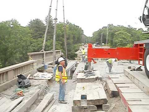 Bridge removal 116 Smithfeild RI