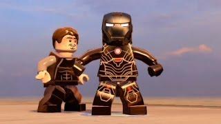 LEGO Marvel's Avengers - All Iron Man Characters | Tony Stark Transformations | Free Roam [HD 1080p]