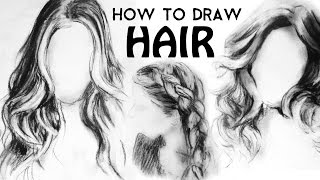 How To Draw Hair | Sketchbook Sunday Episode 9