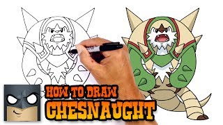 How to Draw Chesnaught | Pokemon