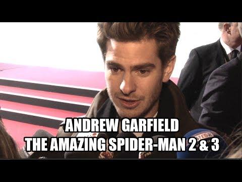 Andrew Garfield Interview - The Amazing Spider-Man 2 & 3