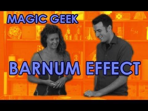 Barnum Effect Mentalist Trick