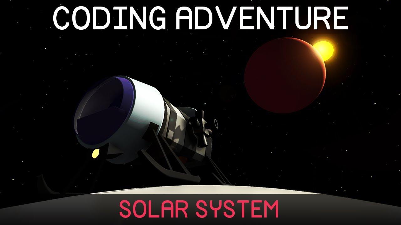 Coding Adventure: Solar System