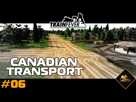 Train Fever North Atlantic : Canadian Rail #6