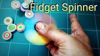 Fidget Spinner / How to make a quilling fidget spinner