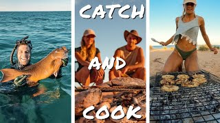 SPEARING A MONSTER CORAL TROUT - Living the Aussie Dream From the Ocean | Ep 42 |