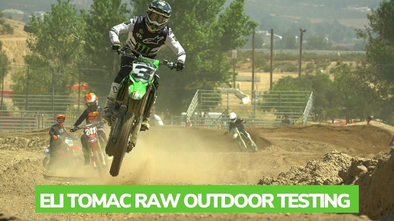 ELI TOMAC RAW OUTDOOR TESTING FOR 2021