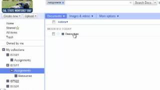 How to Create Collections (Folders) in Google Docs